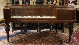 Flügel - Grand Piano - Carl Alpers Kopenhagen Flügel Ende 19. Jh., Nussbaumholz, innen