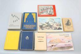 Konvolut Bücher Kriegs-Skizzenbuch, Hans Liska 1939 - 1944, einmalig limitierter Nachdruck; Kriegs-