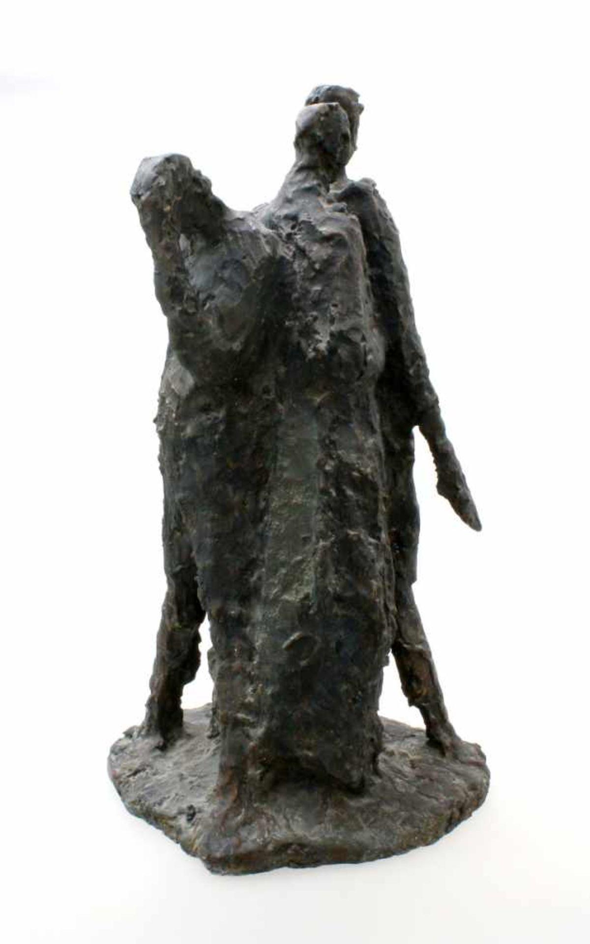 """Expressionistische Skulptur - """"4 Männer"""" - Markus Delago (*1964) Schwere, große Figurengruppe im - Bild 2 aus 6"""