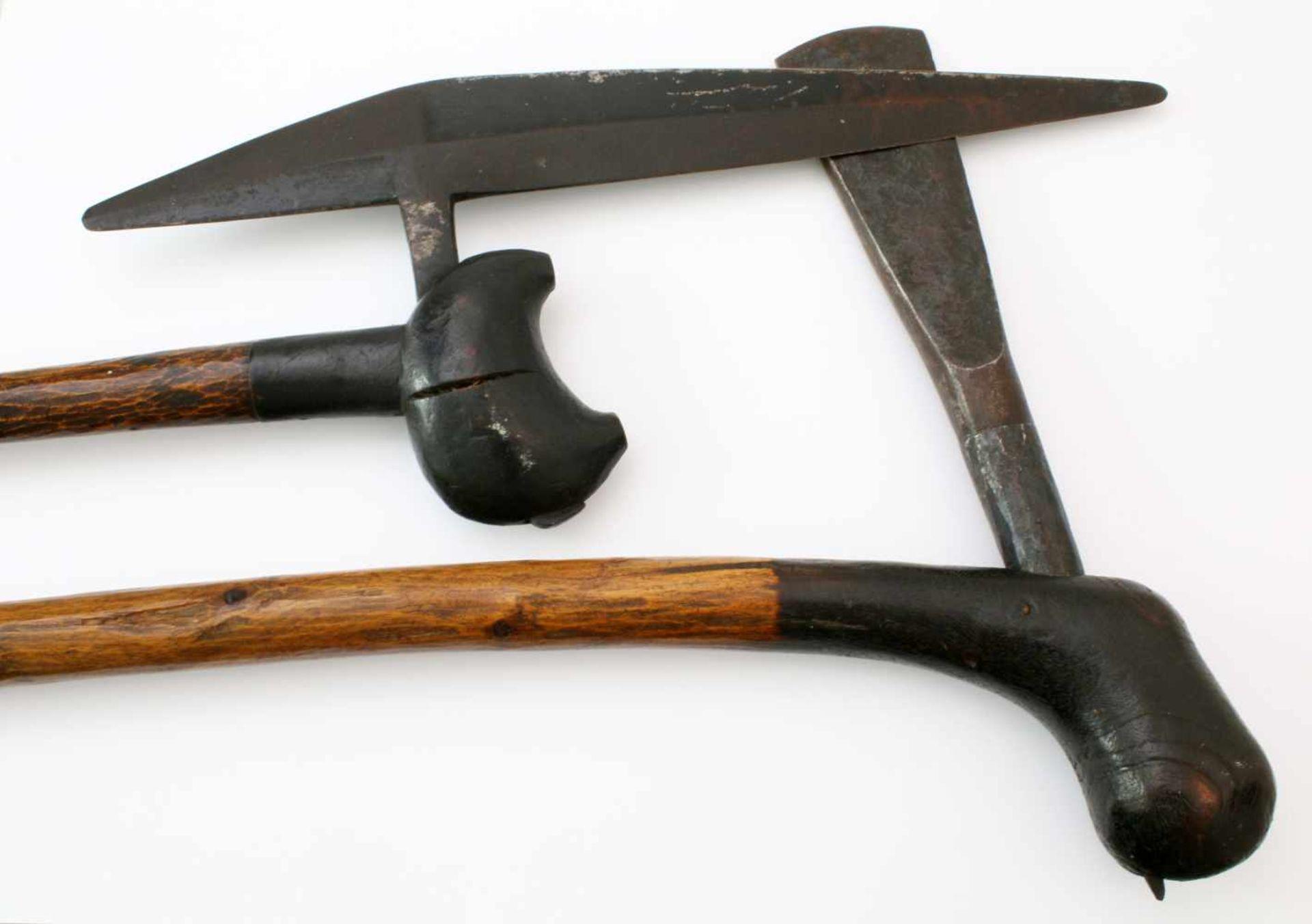 Südafrika, Mosambik - Axt der Zulu, Axt der Tonga - 1. Hälfte 20. JahrhundertAxt der Zulu mit - Bild 3 aus 3