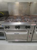"Lot 15 - VULCAN 36"" GAS RANGES, 6-BURNER, CONVECTION OVEN"