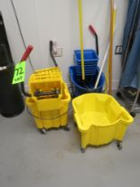Lot 72 - LOT 3-JANITOR MOP BUCKETS