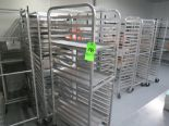 Lot 58 - MOBILE BAKER RACKS WITH NO TRAYS NO CONTENTS