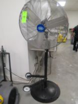 Lot 54 - GLOBAL PEDESTAL WAREHOUSE FAN