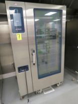 Lot 7 - ALTO-SHAAM MDL. CTP20-20G COMBI OVEN, SN: 1559151-000, W/ ROLLING RACK