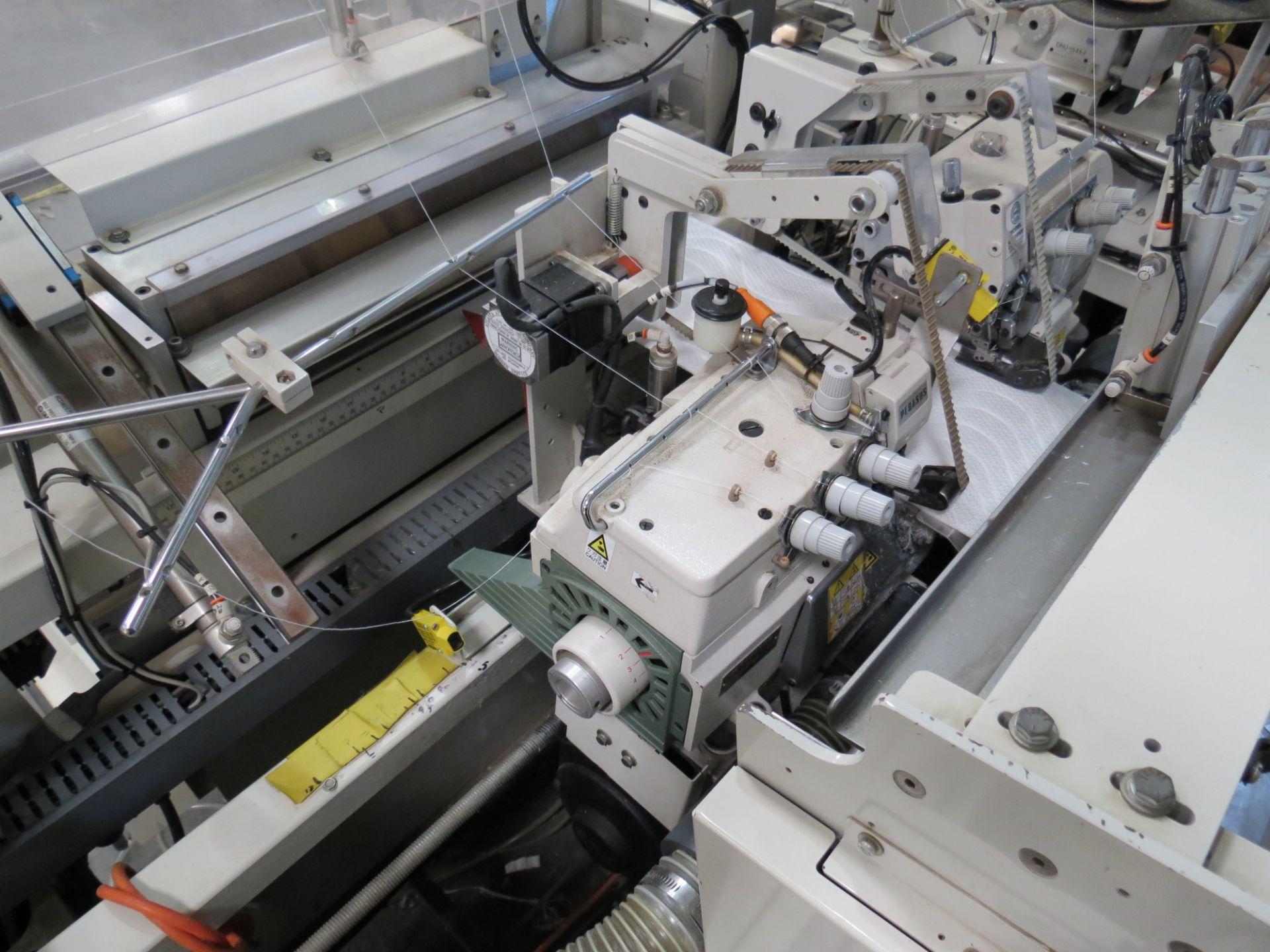 Atlanta Attachment Company, 4300BBorder/Attach Handles Sewing Machine, 220V, SN:209227071609, Juki - Image 8 of 11