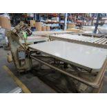 Cash Machine Company 100SNM Tape Edge / Singer 300 U103A/W Table, 220V, SN:19937