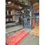"""Toyota Model 7BPUE15 Order Picker Electric Forklift 3K Capacity 240"""" Height SN:80651 (Does Not"""