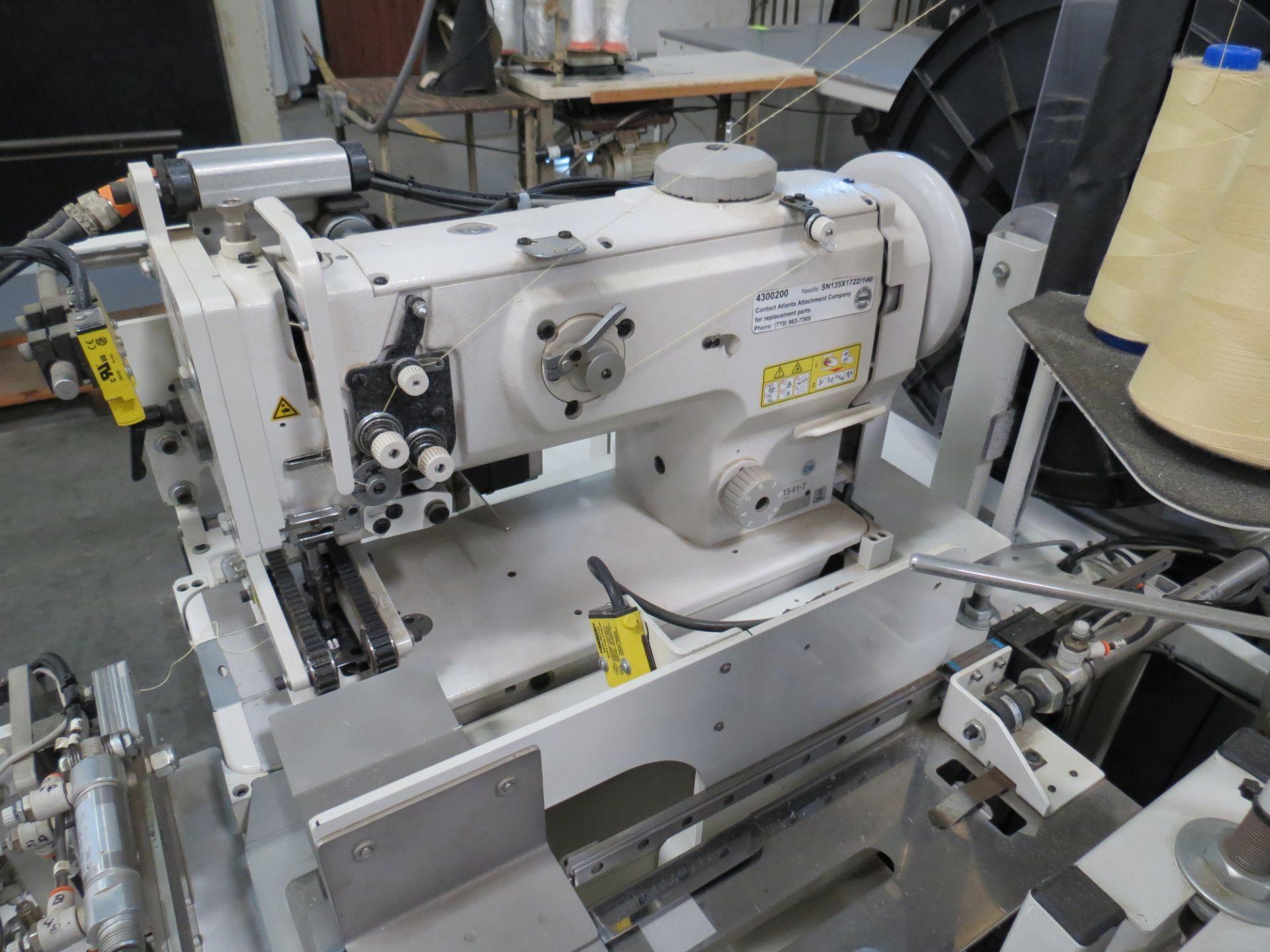 Atlanta Attachment Company, 4300BBorder/Attach Handles Sewing Machine, 220V, SN:209227071609, Juki - Image 6 of 11