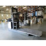 Crown SP 3-Stage Order Picker Electric Forklift 6860 Capacity SN:1A258670 With Legacy Power System