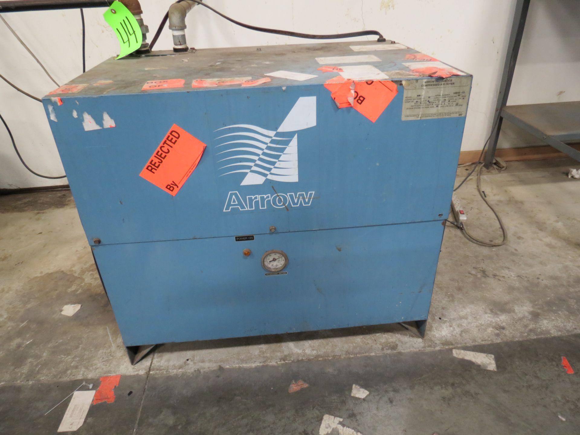 Arrow Pneumatics, Inc. 3530-1 Dryer Backup, 110V, SN:2452453-072