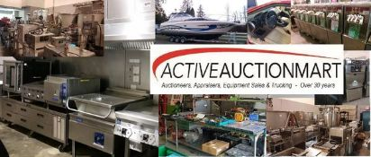 GIANT ONLINE AUCTION of Late Model Food Equipment.  Most equipment used less than one year - Bailiff Seized Goods Plus Others