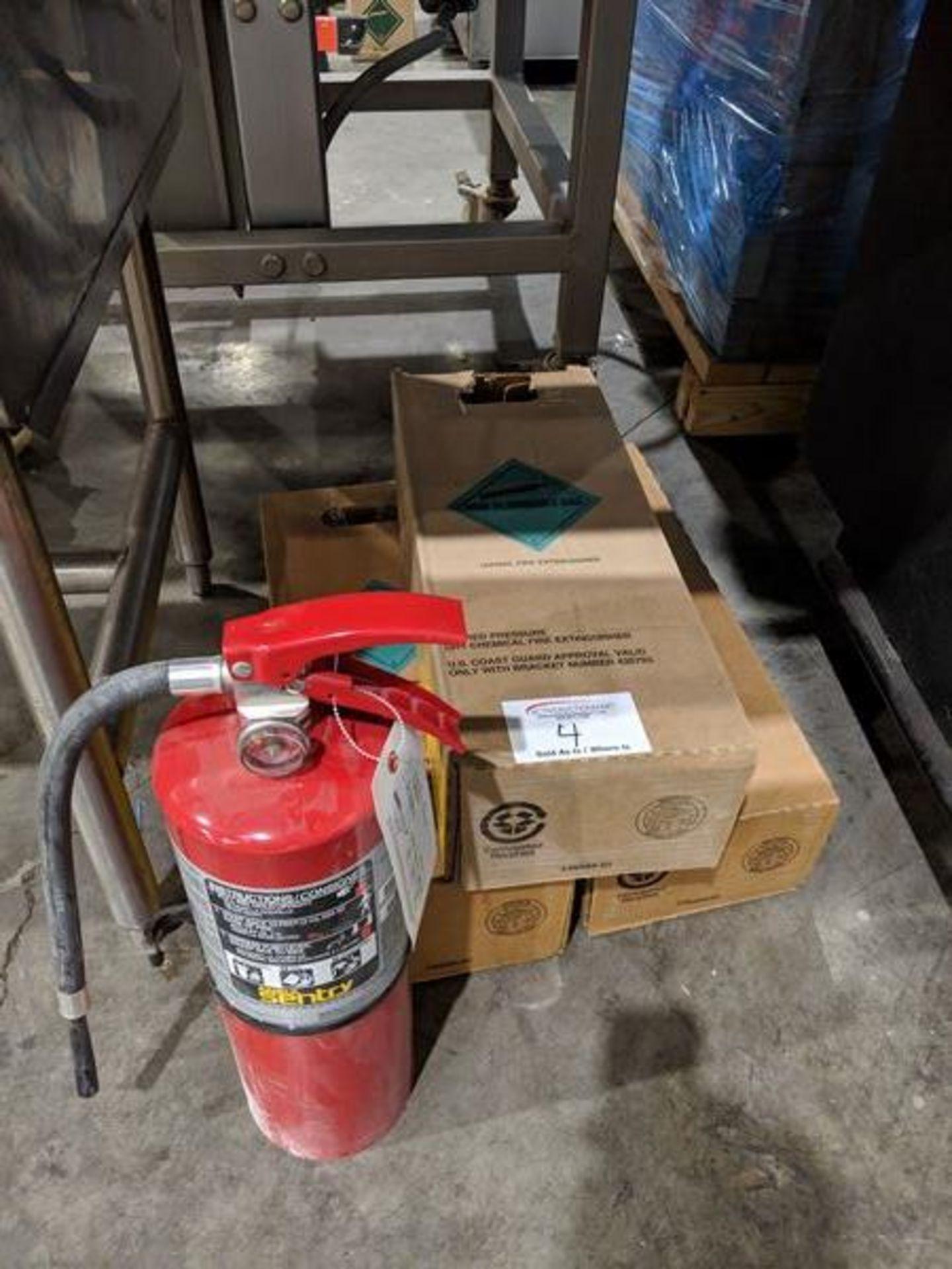 Lot 4 - 3 Ansul Fire Extinguishers
