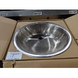 Lot 17 - Onyx Stainless Steel Hand Sink