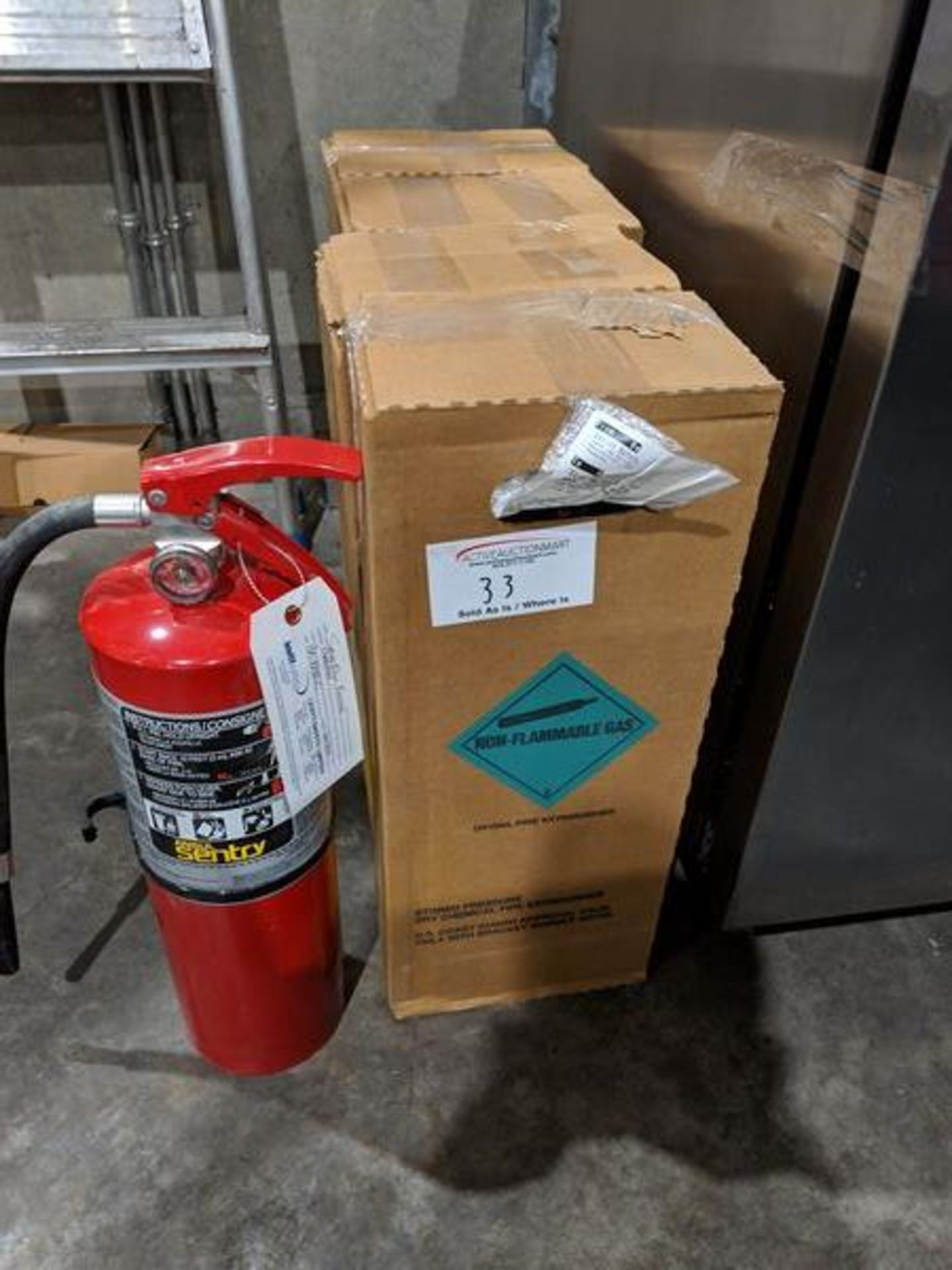 Lot 33 - 4 Ansul New Fire Extinguishers