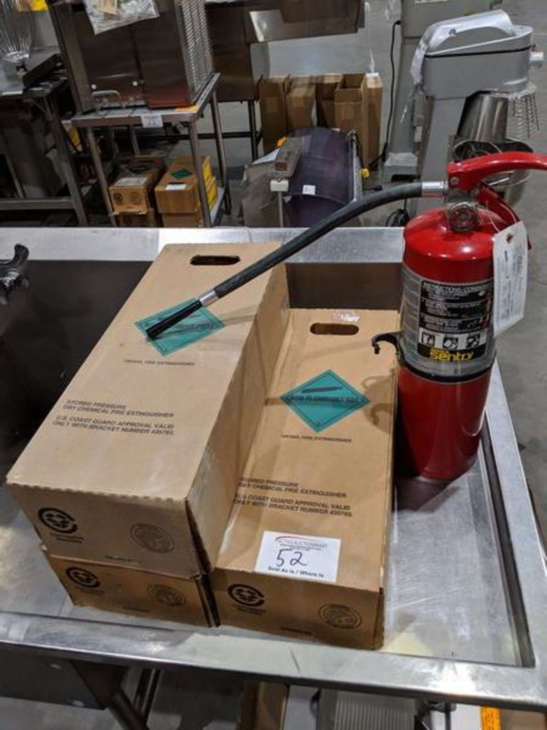 Lot 52 - 4 Ansul New Fire Extinguishers