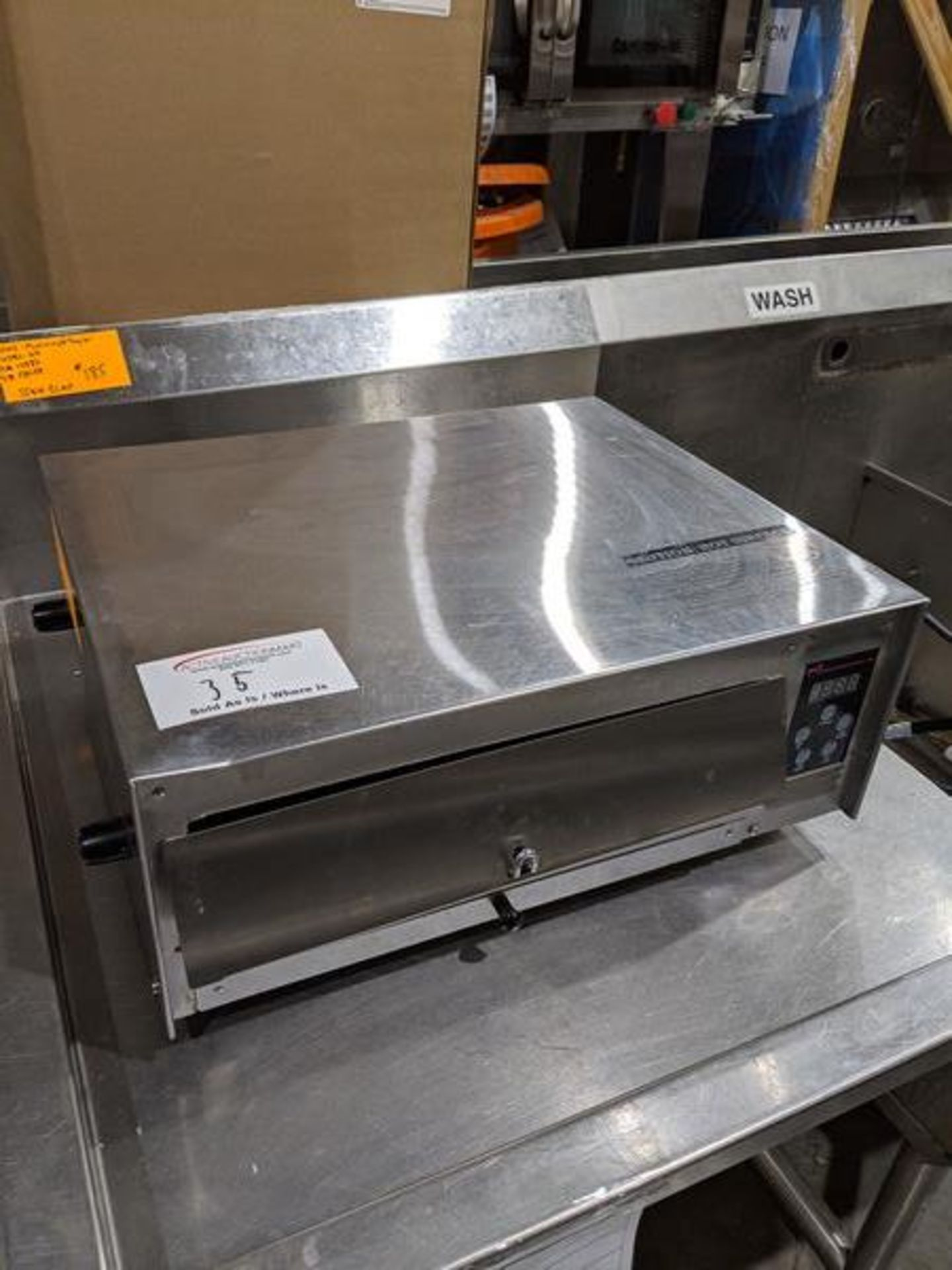 Lot 35 - Wisco Pizza Oven