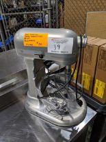 Lot 39 - Kitchen Aid Mixer. No Attachments