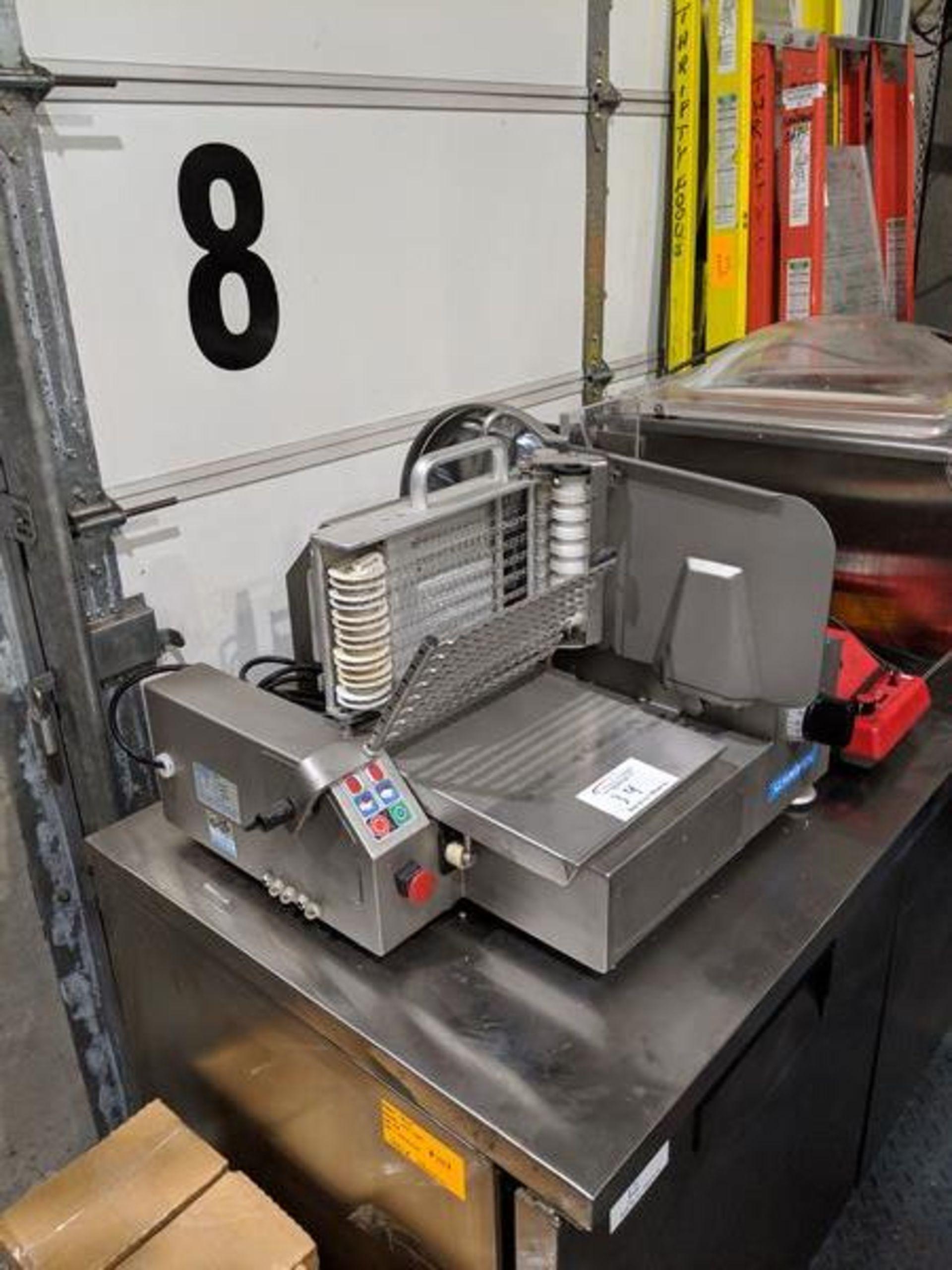 Lot 34 - Scharfen Type VA4000, Model VA2000 Auto Slicer - Replacement cost over $20,000