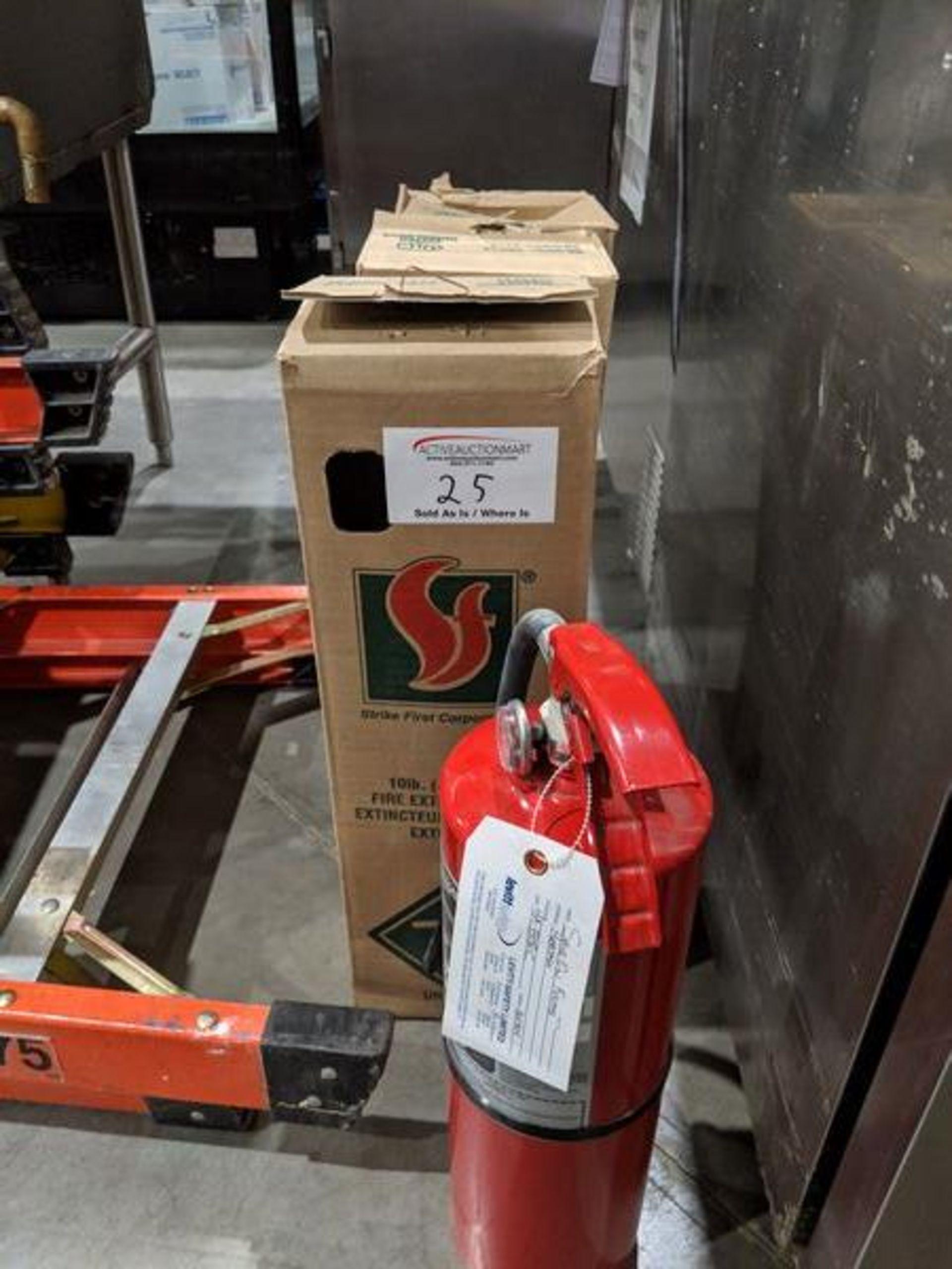 Lot 25 - 3 Ansul Fire Extinguishers