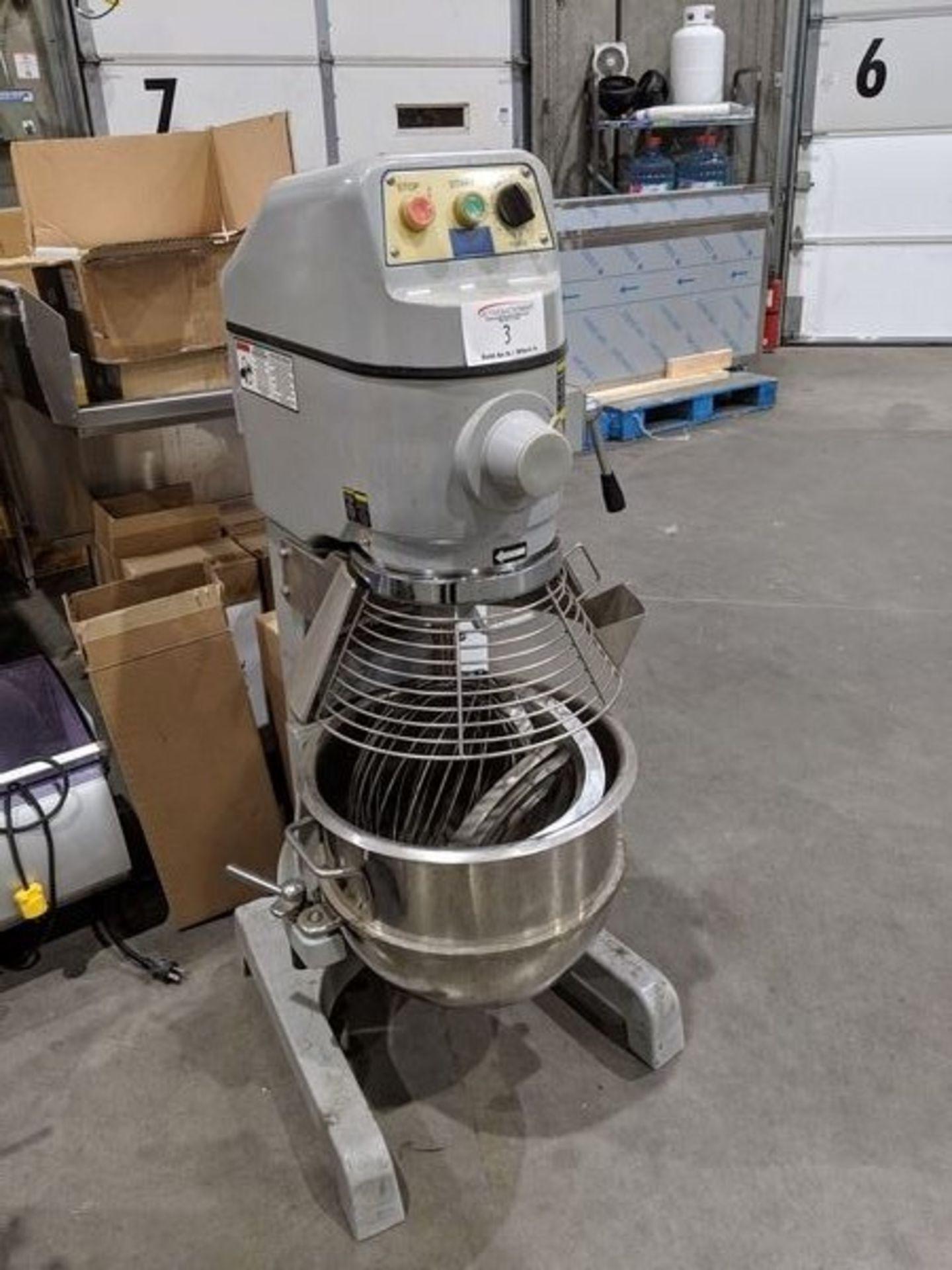 Lot 3 - Spar 30 Quart Mixer with 3 Attachments