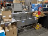 Lot 1 - 3 Compartment Stainless Steel Sink with Wand Wash - Custom Built - Approx Cost New $3400.00