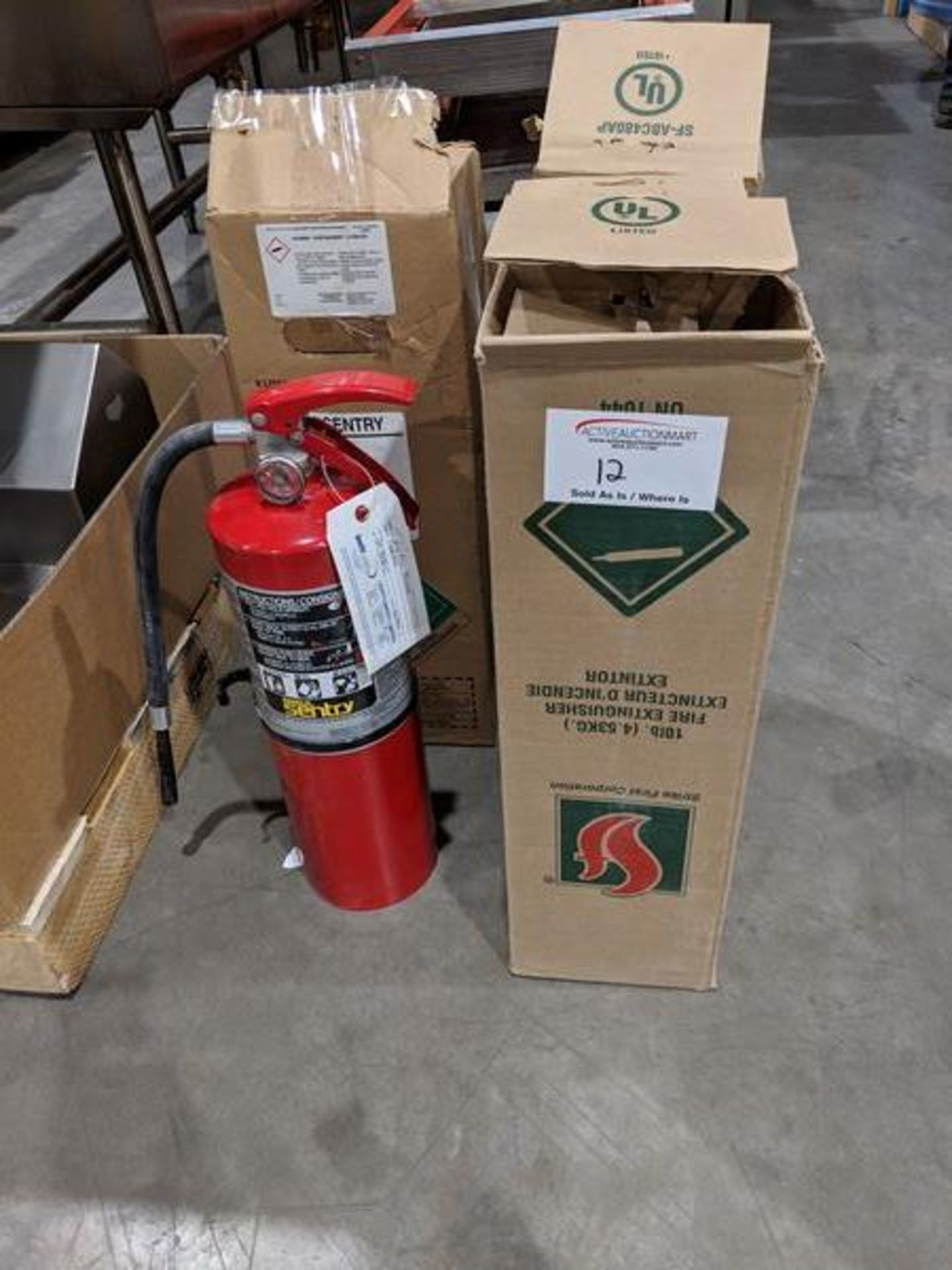 Lot 12 - 4 Ansul New Fire Extinguishers