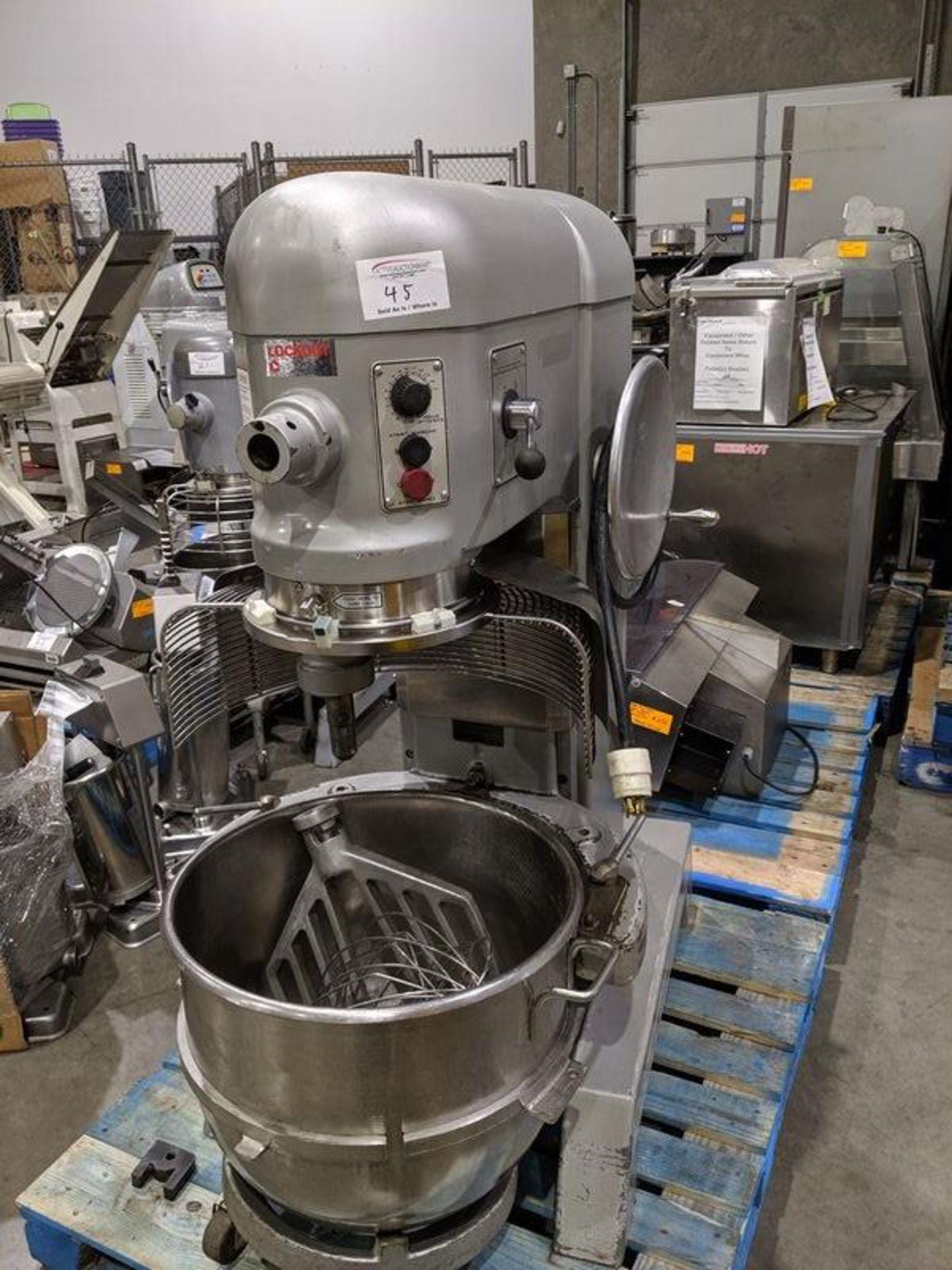 Lot 45 - Hobart Model L800 - 80 Quart Mixer