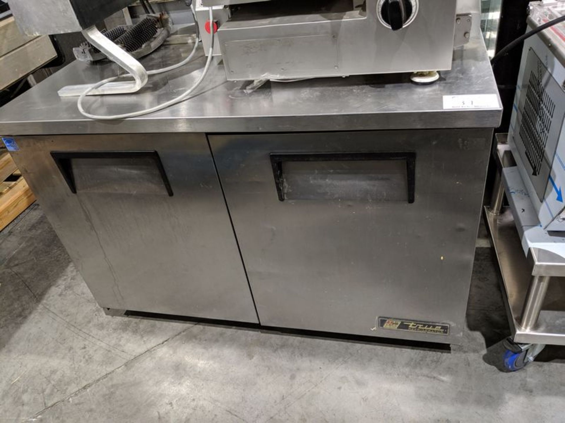 "Lot 31 - True 48"" Undercounter Refrigerator"