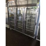 Lot 59 - McCall 3 Door Display Freezer Single Phase Remote Compressor