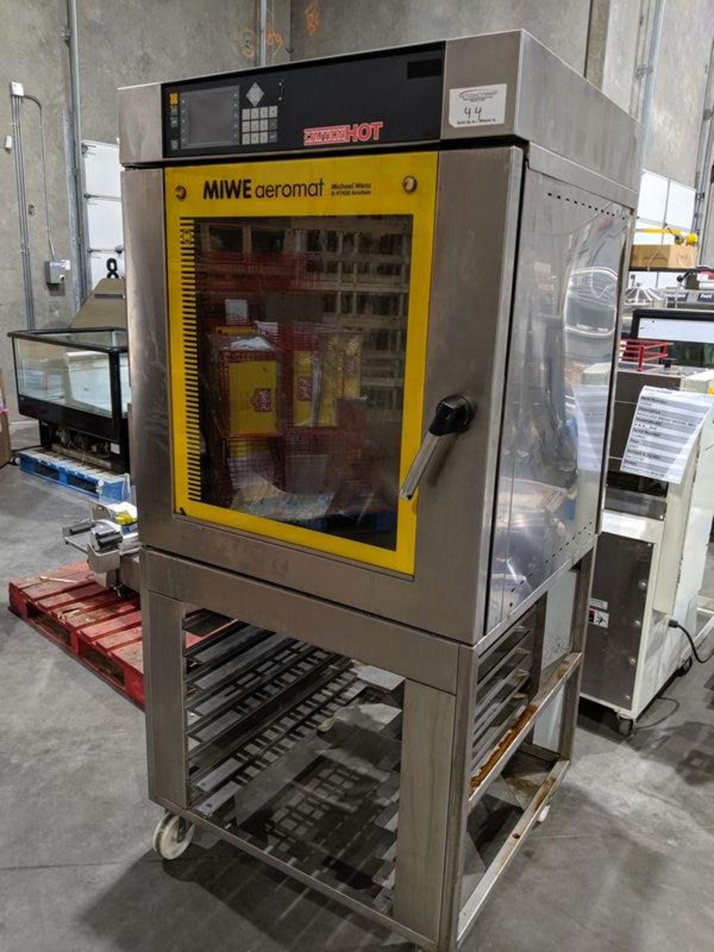 Lot 44 - Miwe Airomat Bake Oven with Steamer