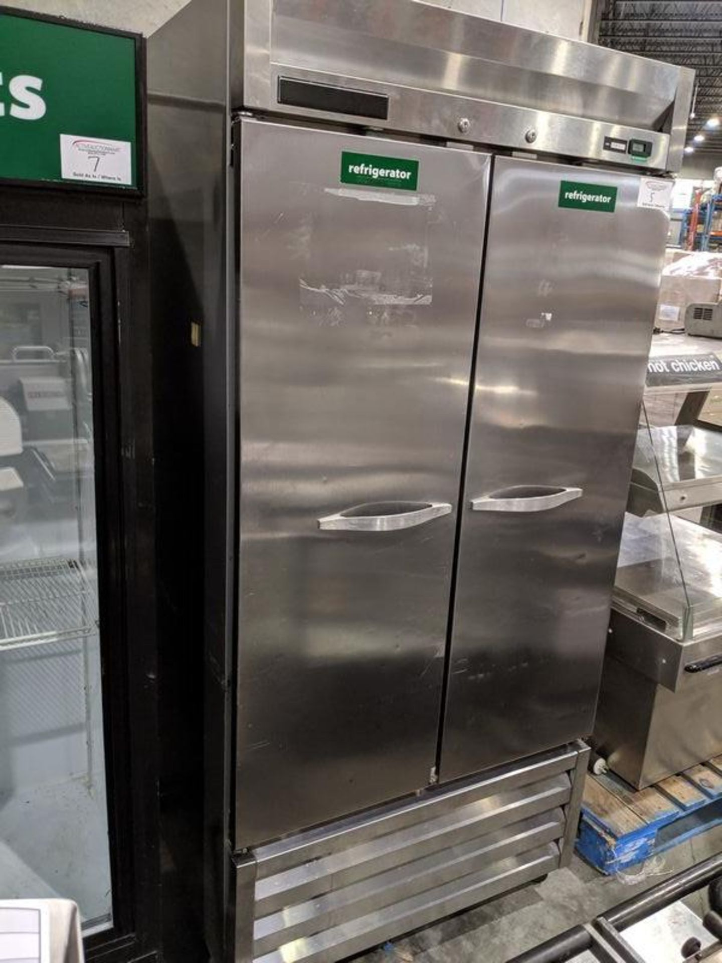 Lot 5 - Beverage Air Model KR36 Stainless Steel Cooler