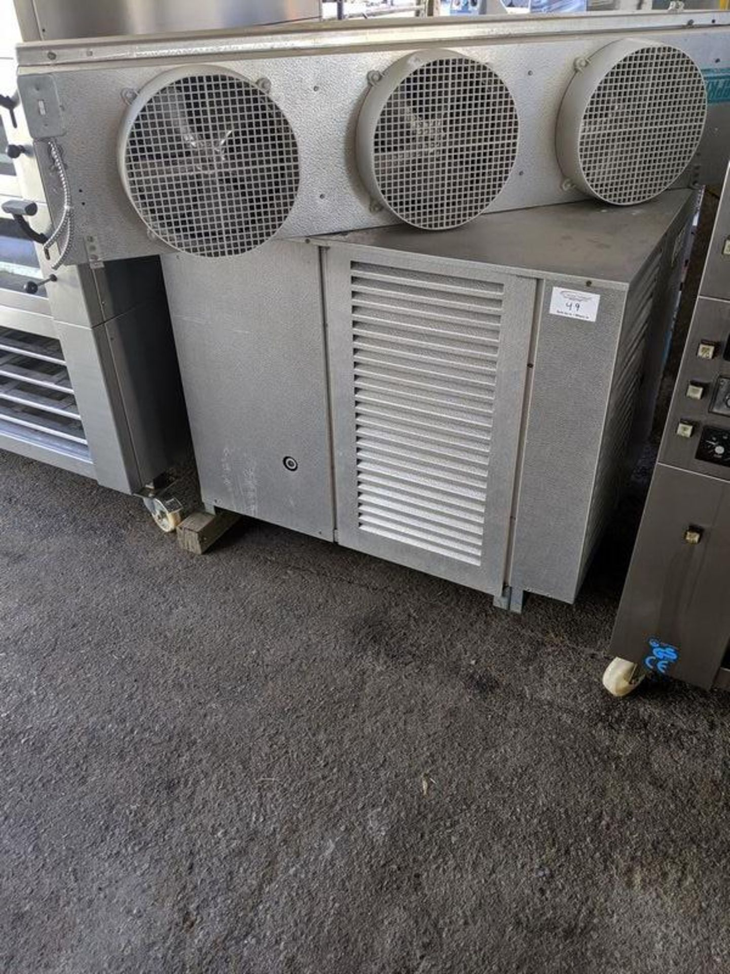 Lot 49 - Russell High Sierra DHO300L44-E Freezer Compressor Complete With 3 Fan Coil