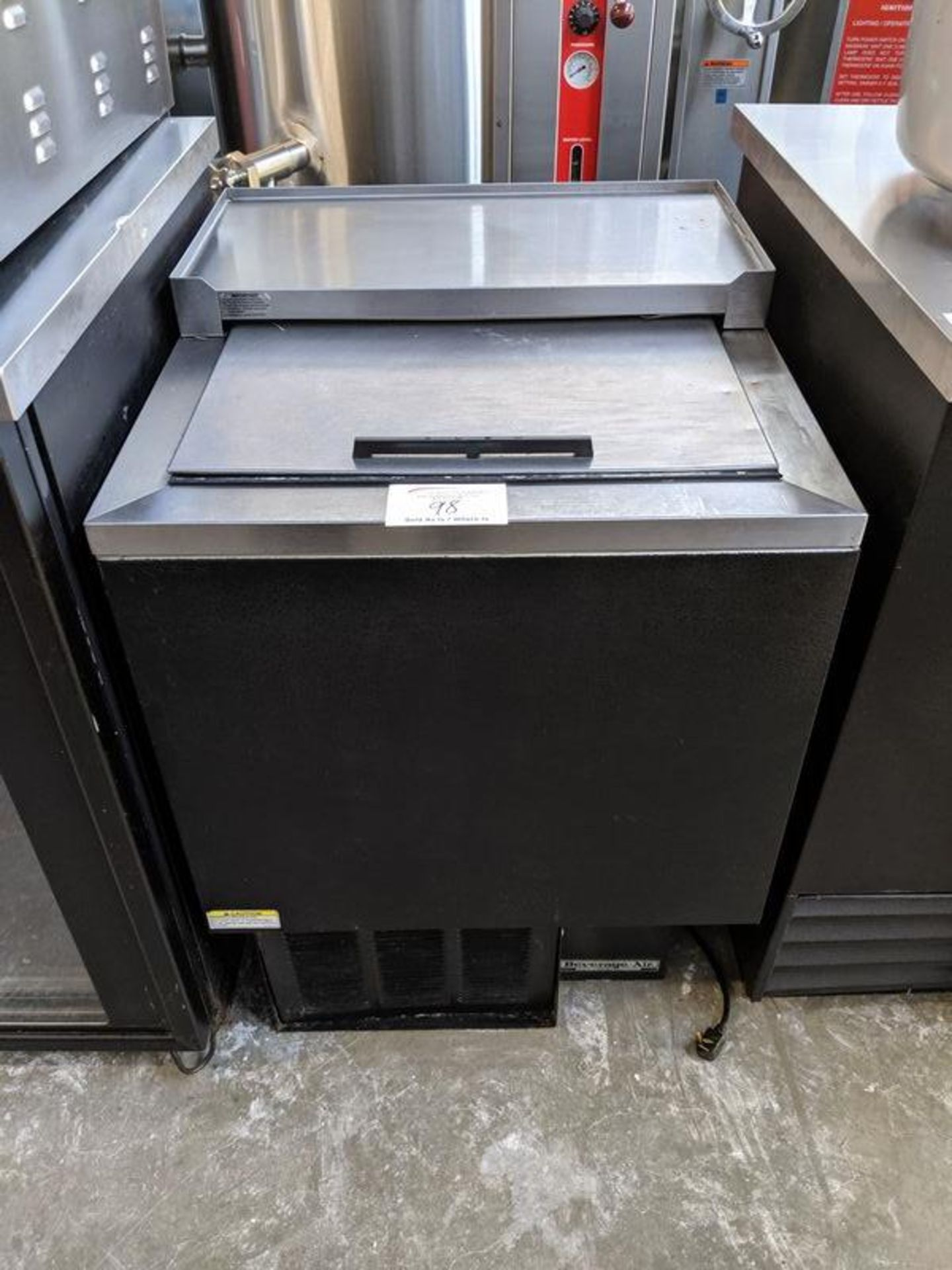 Lot 98 - Beverage Air Glass Chiller