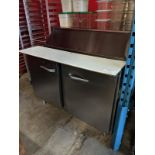 """Traulsen 48"""" Refrigerated Prep Table"""