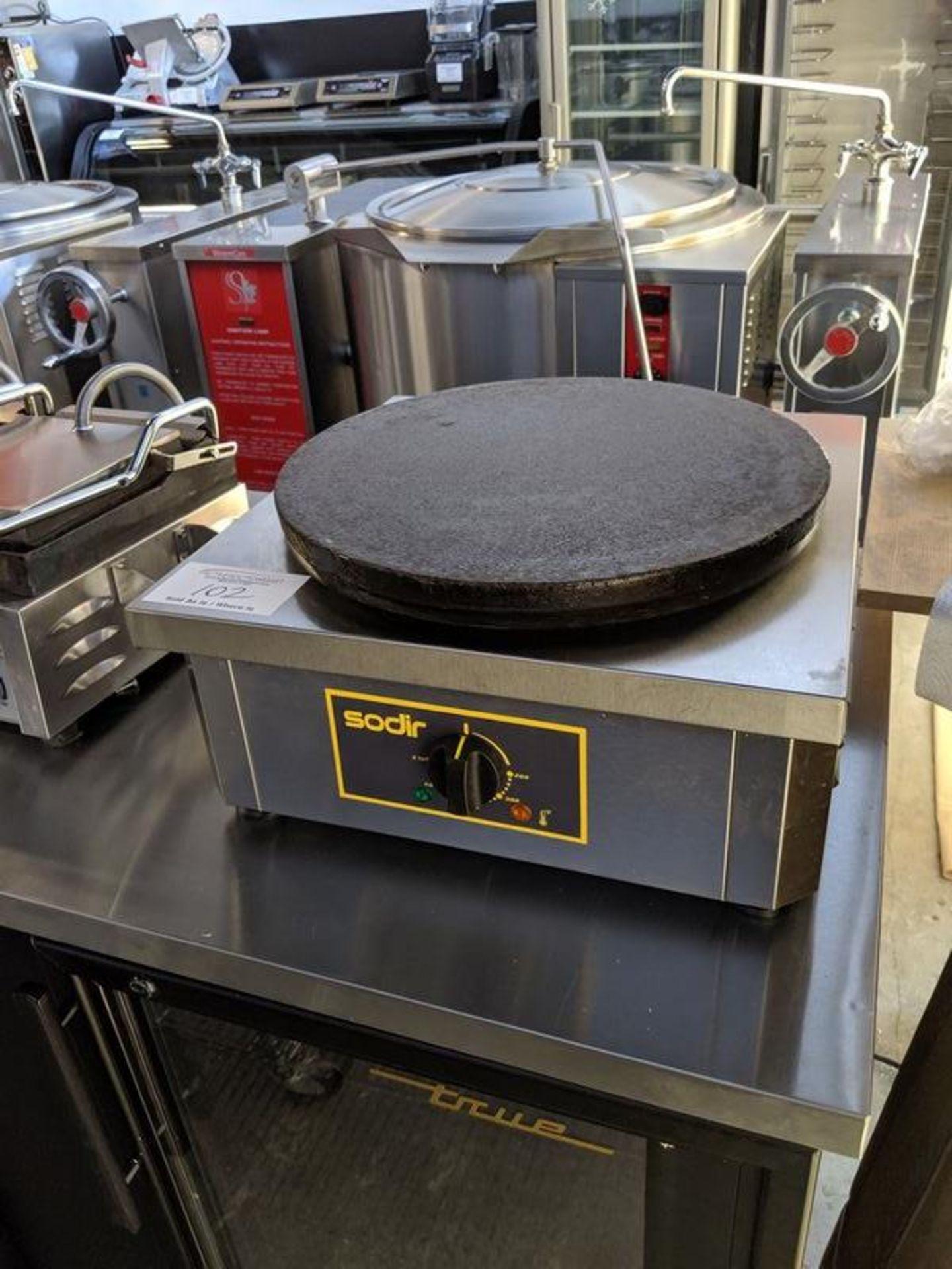 Lot 102 - Sodir Model 400E Crepe Maker - Used 1 Year
