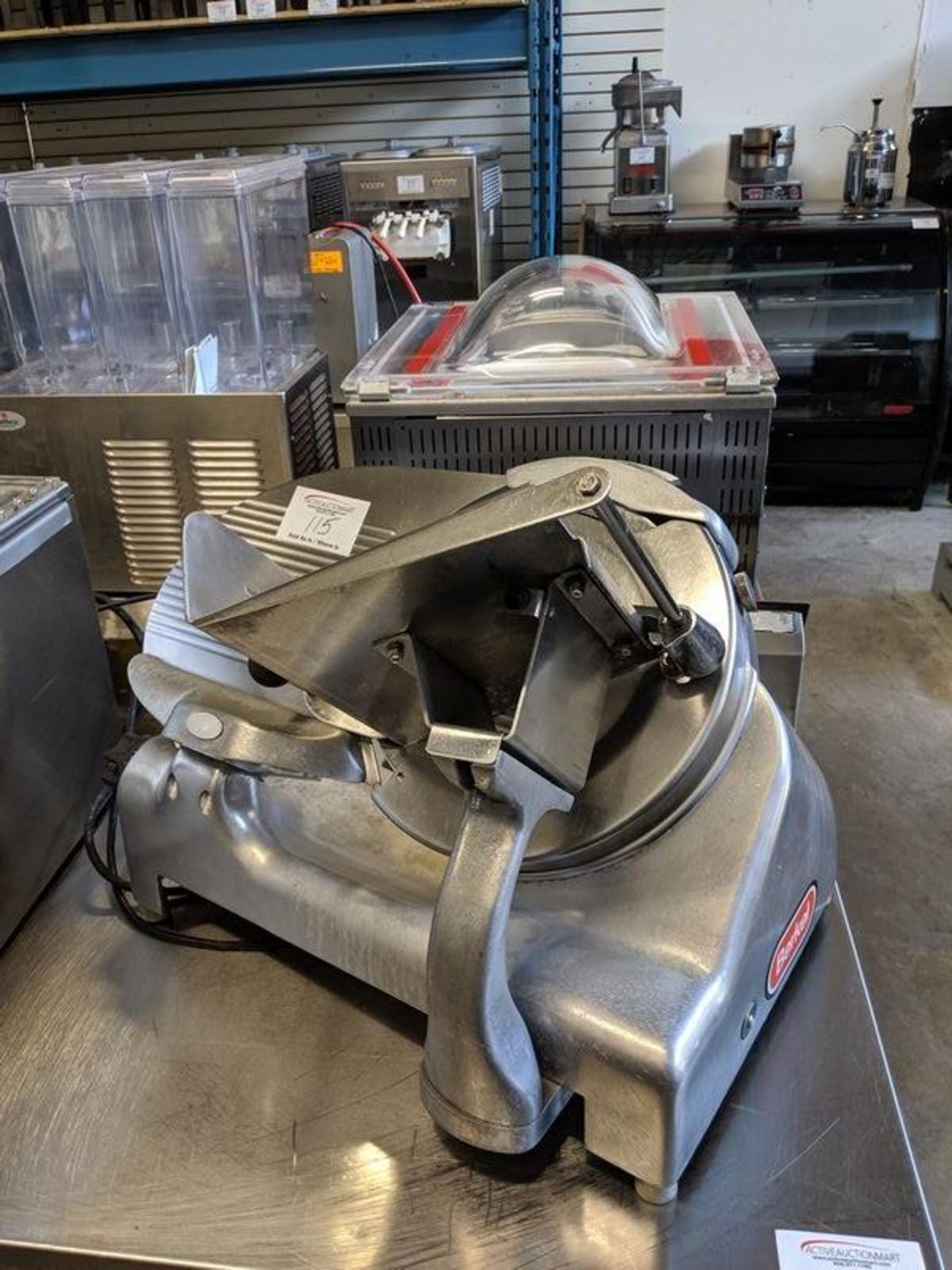Lot 115 - Berkel Heavy Duty Slicer