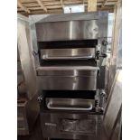 Double Deck Gas Steak Broiler Oven