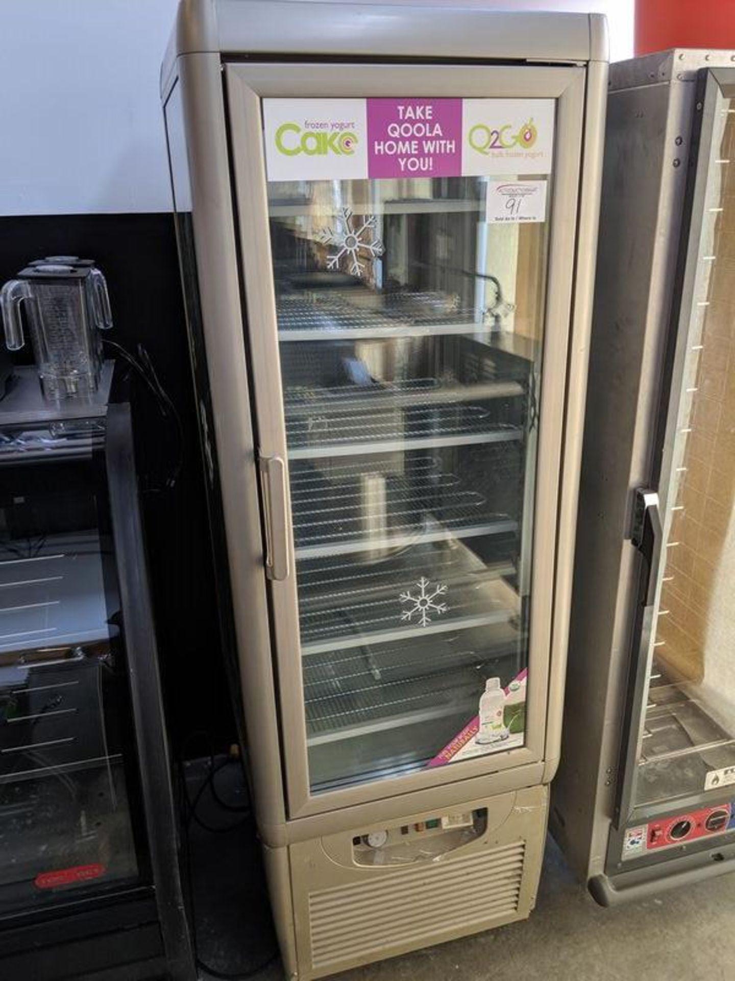 "Lot 91 - ISA - Model PEGASUS - Crystal Palace 350 TB -4 Sided Cake Display Freezer - Approx. 24 x 24"""