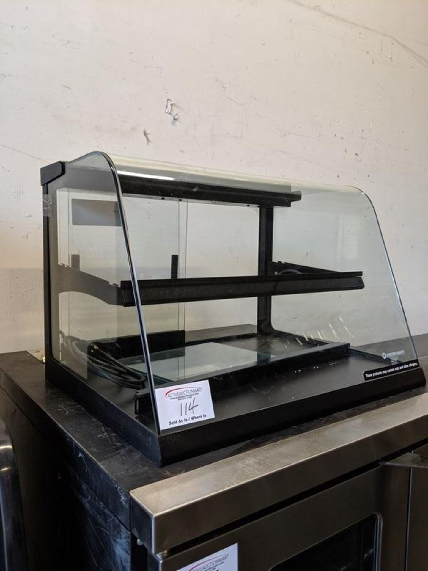 """Lot 114 - Structural Concepts 27"""" Counter Top Pastry Display Case"""