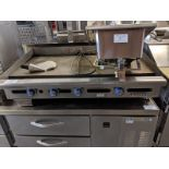 """Imperial 48"""" Gas Griddle"""