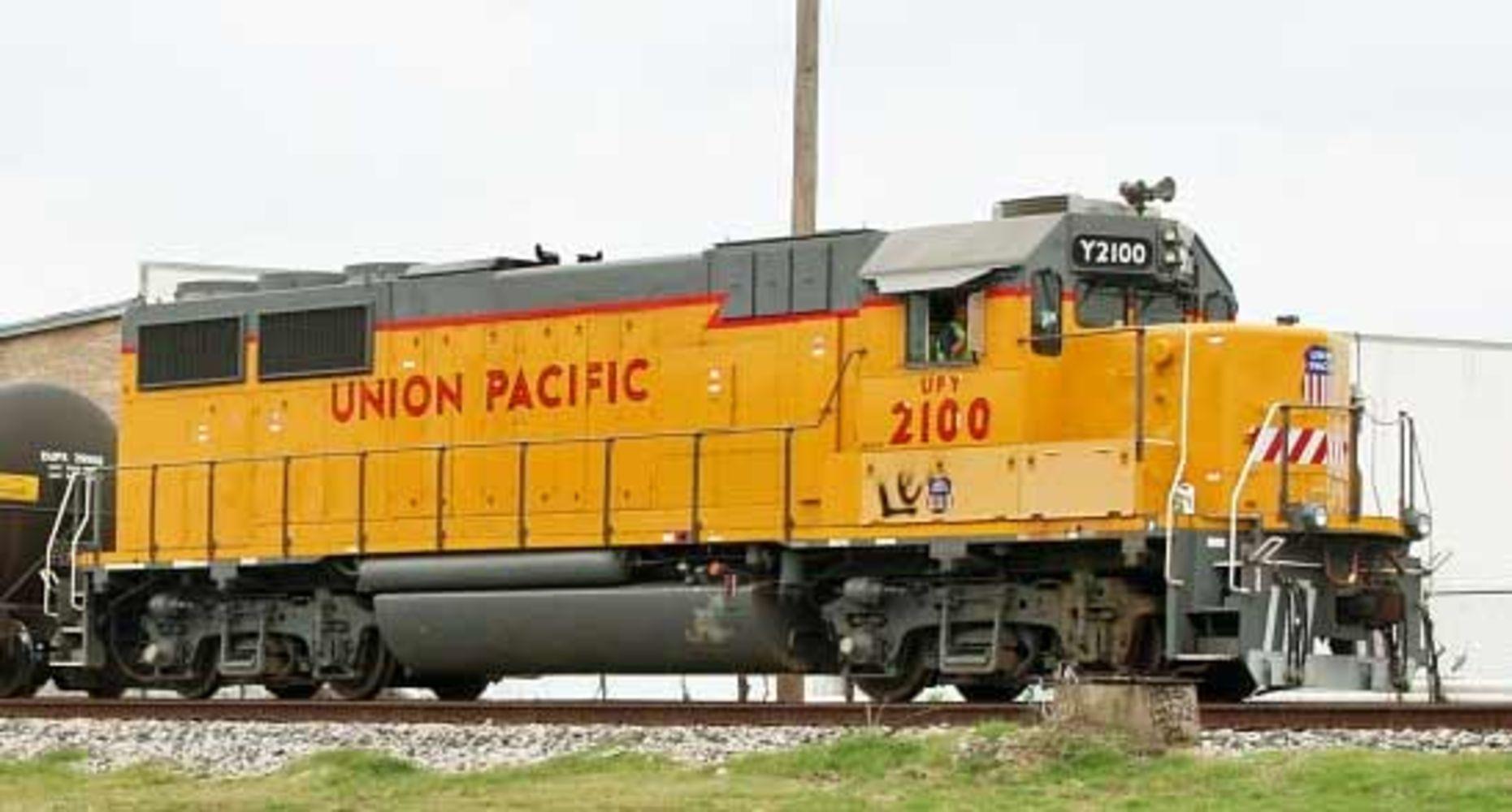 Union Pacific Locomotive Auction