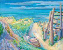 Harry Heinrich Deierling (1894 Philadelphia - 1989 Berlin)Ostseedünen.Öl auf Leinwand. 1924. 550 x