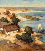 Carl Knauf (1893 Godesberg - 1944 Nidden)Purwin im Sommerlicht (II. Fassung).Öl auf Leinwand.