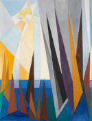 Peter Keler (1898 Preetz/Holstein - 1982 Weimar)Regatta.Öl auf Leinwand. 1960er Jahre. 1300 x 1000