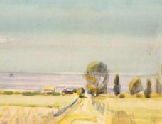 Hans Kinder (1900 - Dresden - 1986)Tenkitten. Samlandküste.Aquarell. 1930er Jahre. 316 x 400 mm.