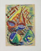 Schmalix Hubertgeb. 1952Kleines Strandgut 31981Aquarell auf Papier, handsigniert, datiert und