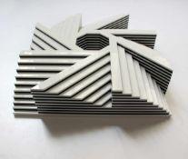 Morandini Marcellogeb. 1940Scultura 4872005Plexiglas, Ed. 9/256,5 x 25 x 25 cm
