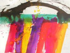 Prachensky Markus 1932-2011 Cinque Terre 2003 Farblithographie, Ed. P.P. 76,5 x 57 cm