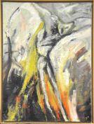 Stangl Annageb. 1961Ohne Titel1988Öl und Sand auf Leinwand125 x 95 cm